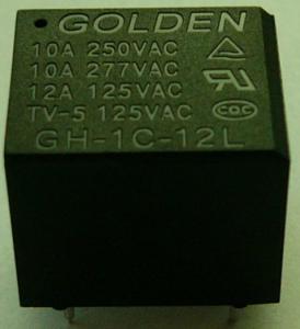 Quality 12A 12 Volt / 24 Volt General Purpose Relay Plastic Sealed GH JQC-3FF wholesale