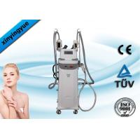 China Professional Vertical Cryolipolysis Cavitation RF Slimming Machine 5MHz on sale