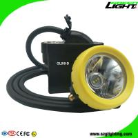 Quality High Low Beam Mining Head Lamp Waterproof LED Miner Headlight with USB Charging wholesale