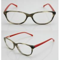 Quality Flexible Red & Black Cool Acetate Womens Eyeglass Frames for Reading wholesale