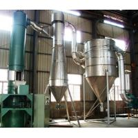 China Carbon White Fast Rotary Industrial Flash Dryer , Chemical Continuous Drying Equipment on sale