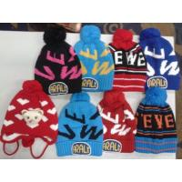China 12000 pieces kids knitting winter hat Fashion Beanies stock on sale