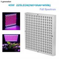 Quality Indoor Greenhouse Led Grow Lights Panel PC Cover With 10W Wattage wholesale