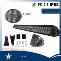 Quality 50000 Lm Programmable Led Light Bar , Off Road Led Driving Light Bar For Jeep wholesale