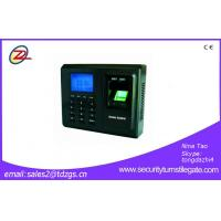 Quality Time Attendance Biometric  With Touch ScreenFingerprint  Access Control System wholesale
