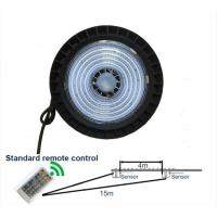 Quality Remote Control High Bay LED Lights 100W 14500Lm Die Casting Aluminum Radiator wholesale