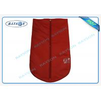 Quality Breathable Reusable Protective TNT Material Garment Storage Bags With Handle wholesale
