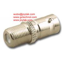 Buy cheap BNC Female To F Male BNC Adapter female to F connector female Coaxial Adaptor all brass from wholesalers