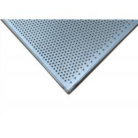 Quality Perforated Rectangular Baking Tray , Commercial Bakery Equipment Cake Pans wholesale