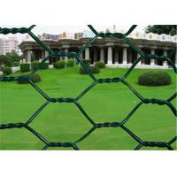 Quality 2 inch Woven PVC Coated Rabbit Wire Netting With Low Carbon Steel 3/4'' Galvanized wholesale