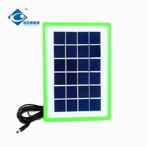 China 6V 3.5W sunpower solar panel ZW-3.5W mini high efficiency solar panel on sale