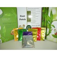 Quality Silver , gold Detox Foot Patch , foot detoxification pads with chinese herbal fomulation wholesale