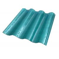 China Solid Sun Corrugated Polycarbonate Sheets Temp Endurance Customized Size on sale