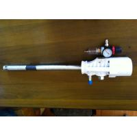 China White / Black Pneumatic Grease Pump 6kg Gross Weight Suction Tube Length 420mm on sale