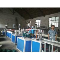 China Single / Twin Screw Plastic Extruders PVC Extrusion Machine for Furniture Edge Banding on sale