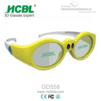 Quality Yellow / Pink / Purple Kid 3d active shutter glasses For Xpand Cinema System wholesale
