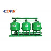 China DP / Time Control Irrigation Sand Filter 30 - 400 M³ / H Flow Rate Automatic on sale