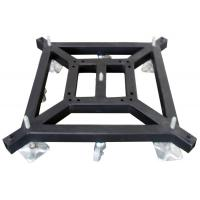 China Removable Truss Tower System Lift Steel Base Plate / Mobile Truss Square Base Plate on sale