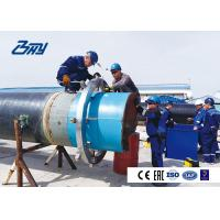 China Hydraulic Portable Cold Pipe Cutting And Bevelling Machine with Split Frame Structure on sale