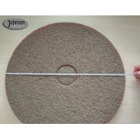 Quality 17 Inch Sponge Fiber Diamond Polishing Pads for Marble / Concrete Floor #400 #800 wholesale