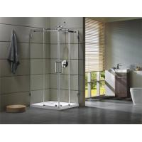 Quality Corner Shower room 304 stainless steel Rail bar Material for bathroom 100X100X195/cm wholesale