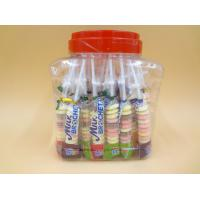 Quality Funny Milk Flavored Brochette Sugar Candies With Jar Various Candy Shapes wholesale
