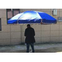 Quality Silver Coated Garden Sunshades Parasols UV Resistant For Business Promotion wholesale