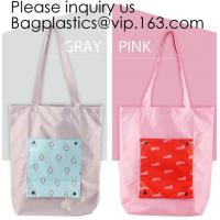 China Fashionable Polyester Grocery Shopping Bag Promotional Foldable Shopping Bag,Reusable polyester folding promo shopper to on sale