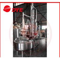 Quality 500L Custom Steam Heating Reflux Still , Vodka Distillation Equipment wholesale