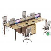 cheap modern 4 seater office glass workstation table furniture product