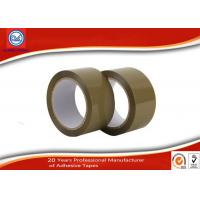China No - Bubble Brown Colored BOPP Packaging Tape , Self Adhesive Tape on sale