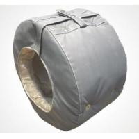 China Construction Thermal Insulation Covers Pipe Aerogel Insulation Removable on sale