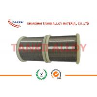 Quality Diameter 1.0mm 1.2mm TP / TN Thermocouple Bare Wire Type T Copper - Constantan Wire wholesale