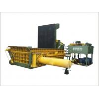 China Pet Bottle Baling Press Machine PLC Control Pushing Out Discharging ISO9001 on sale