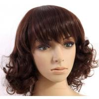 Quality New Stylish Synthetic Hair Wigs Natural Curly Women natural looking synthetic wigs wholesale