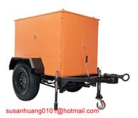 Quality ZYD-M Mobile type vacuum Transformer oil filtration plant mounted on trailer for outside use wholesale