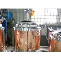 Quality Electric / Steam Heating Industrial Beer Brewery Equipment Pipe Welding wholesale