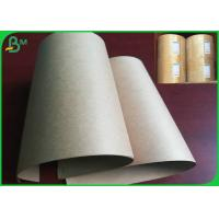 Quality 50gsm 60gsm Disposable FSC And FDA Certificate Brown Kraft Paper In Street Food Market wholesale