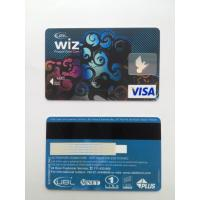 Quality Bank's visa smart card with hico - magstripe and standard hologram wholesale