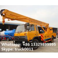 Buy cheap dongfeng brand 190hp aerial working platform truck for sale, hot sale dongfeng 153 20m overhead working truck for sale product