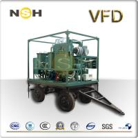 Quality 600~18000 LPH Transformer Oil Purifier , Trailers Mounted Oil Filter Unit wholesale
