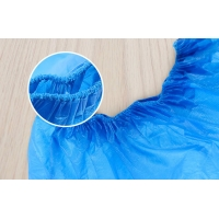 China Plastic Embossed Non Slip Hospital Non Woven Shoe Covers Disposable on sale