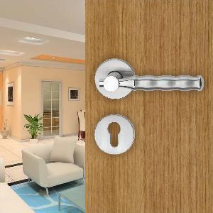 Quality Zinc Alloy Door Handle Lock Set (1753Y-NB) wholesale