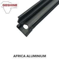 Cheap Black powder coated aluminium extrusion profile for aluminium handrail for sale