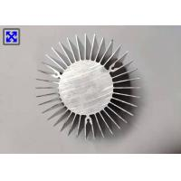 China Round Shape Heatsink Extrusion Profiles , Anti Friction Aluminum Extrusion Profiles on sale