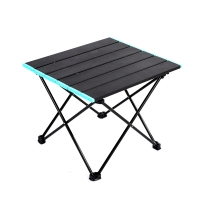 Quality Aluminum Square BBQ Folding Camping Table With Carry Bag wholesale