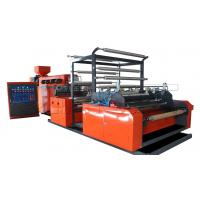 Cheap HDPE LDPE Stretch Wrap Machine Protective Packing , Cast Film Machine for sale