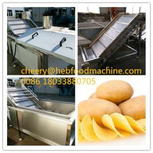 China factory cheap fresh potato chips machine on sale