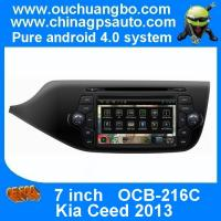 Quality Ouchuangbo Car Navi Multimedia DVD Player for Kia Ceed 2013 S150 Android 4.0 Auto Radio DSP sound-effects OCB-216C wholesale