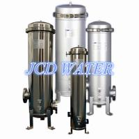 "Quality 5"" Industrial High Pressure Bag Filter Housing For Waste Water Treatment wholesale"